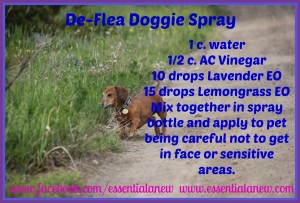 De-Flea Doggie Spray