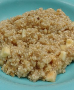 Wintertime Apple Oats