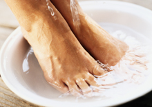 Essential Oil Basics Foot Bath Recipe ~ Essential Anew