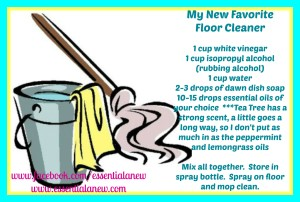 My New Favorite Floor Cleaner ~ Essential Anew