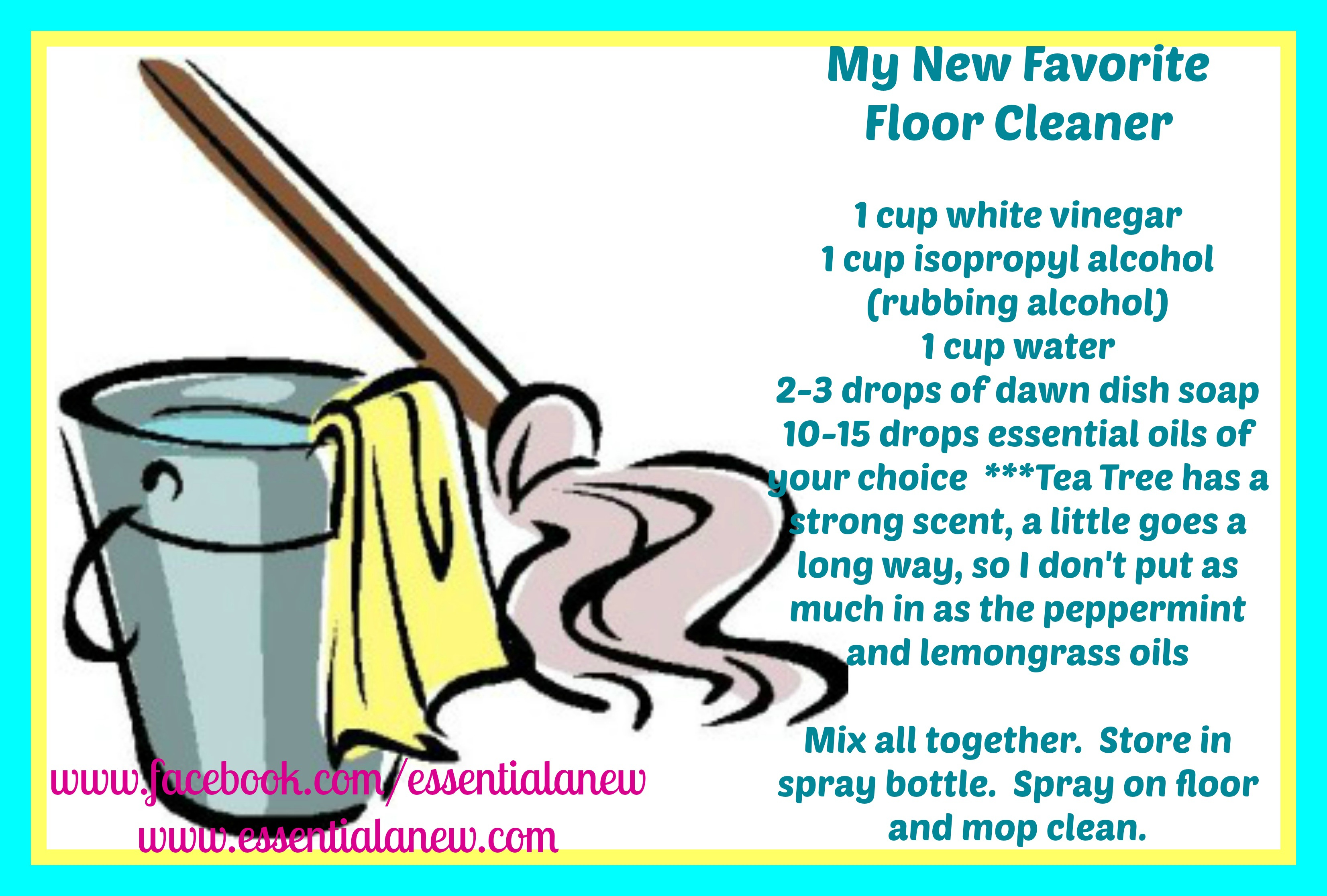 My New Favorite Floor Cleaner Essential Anew